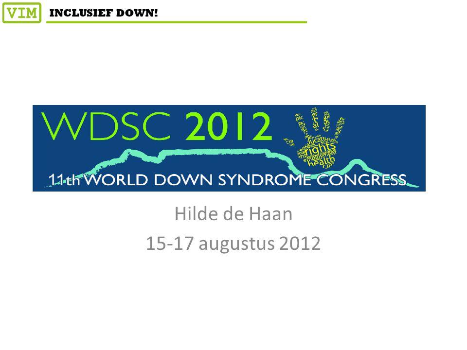 Hilde de Haan 15-17 augustus 2012
