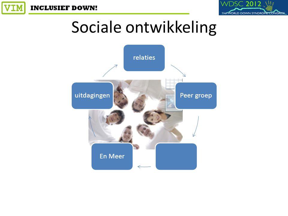Sociale ontwikkeling relatiesPeer groepEn Meeruitdagingen