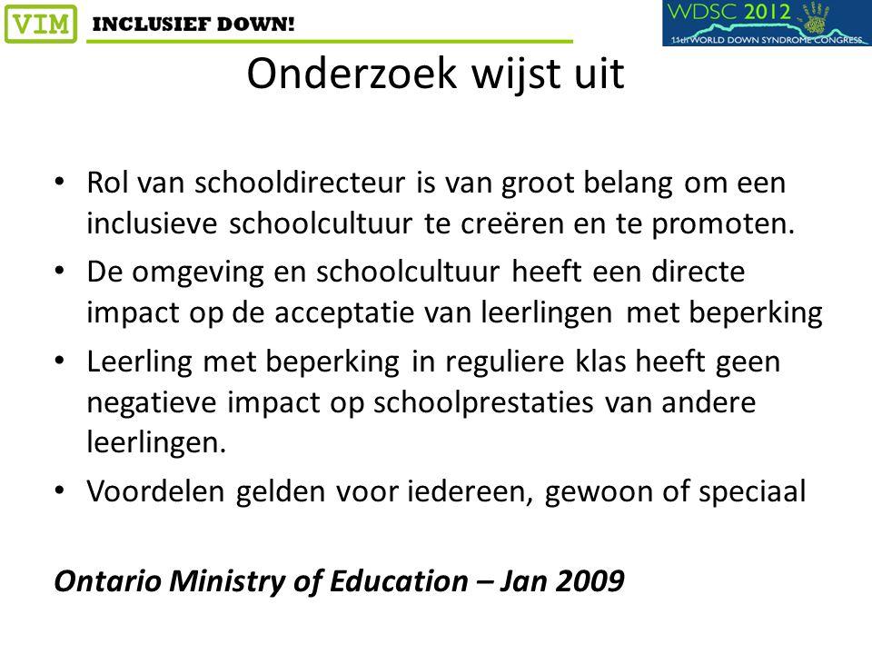 Onderzoek wijst uit Rol van schooldirecteur is van groot belang om een inclusieve schoolcultuur te creëren en te promoten. De omgeving en schoolcultuu