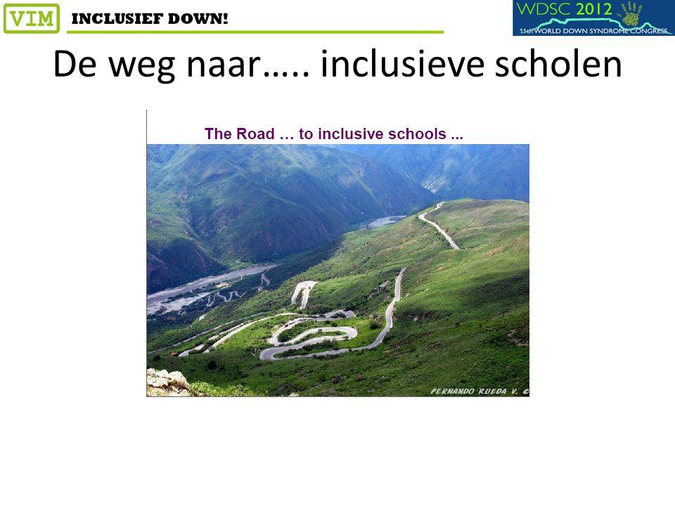De weg naar….. inclusieve scholen
