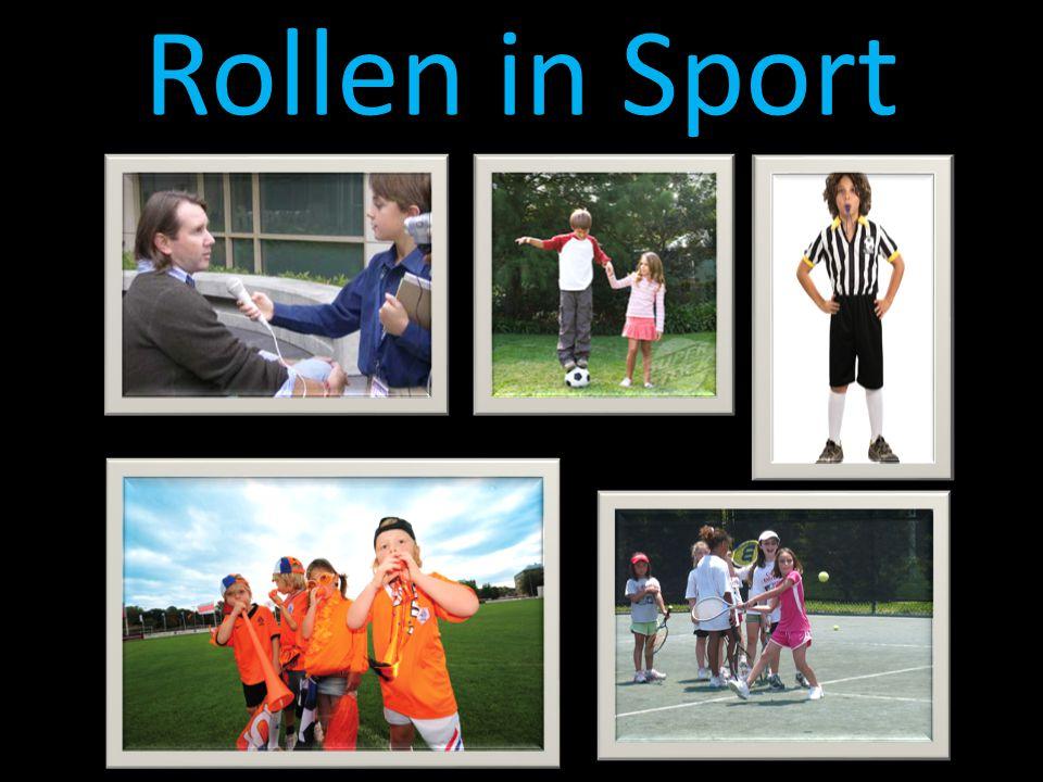Rollen in Sport
