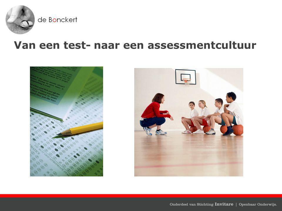 Van een test- naar een assessmentcultuur