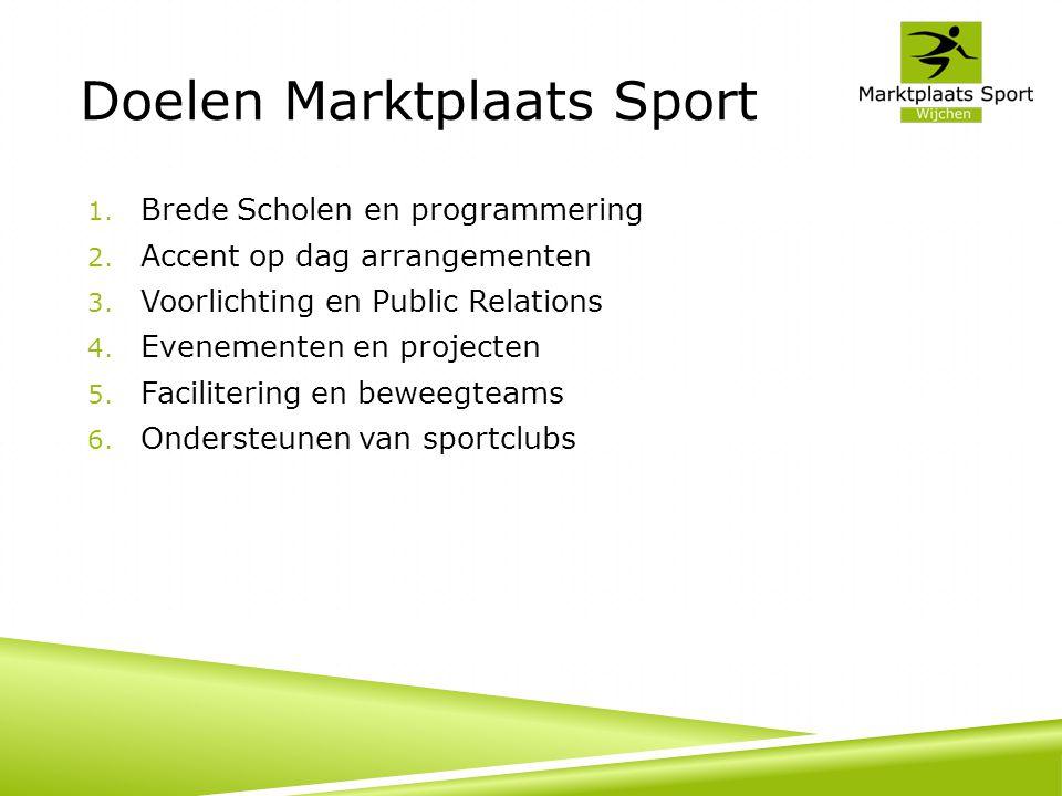 Activiteiten (1) 1.Brede scholen 1. Jaarplanning sportaanbod 2.
