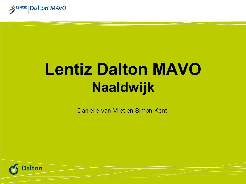 Lentiz Dalton MAVO Naaldwijk Daniëlle van Vliet en Simon Kent