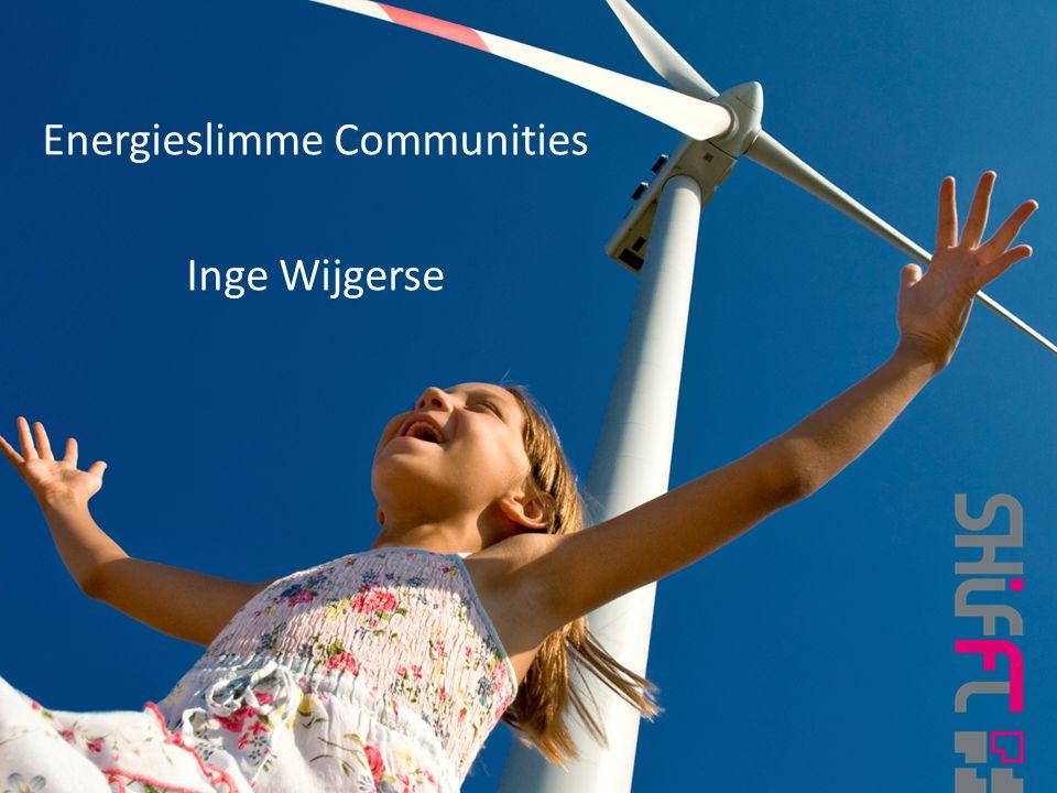 Energieslimme Communities Inge Wijgerse