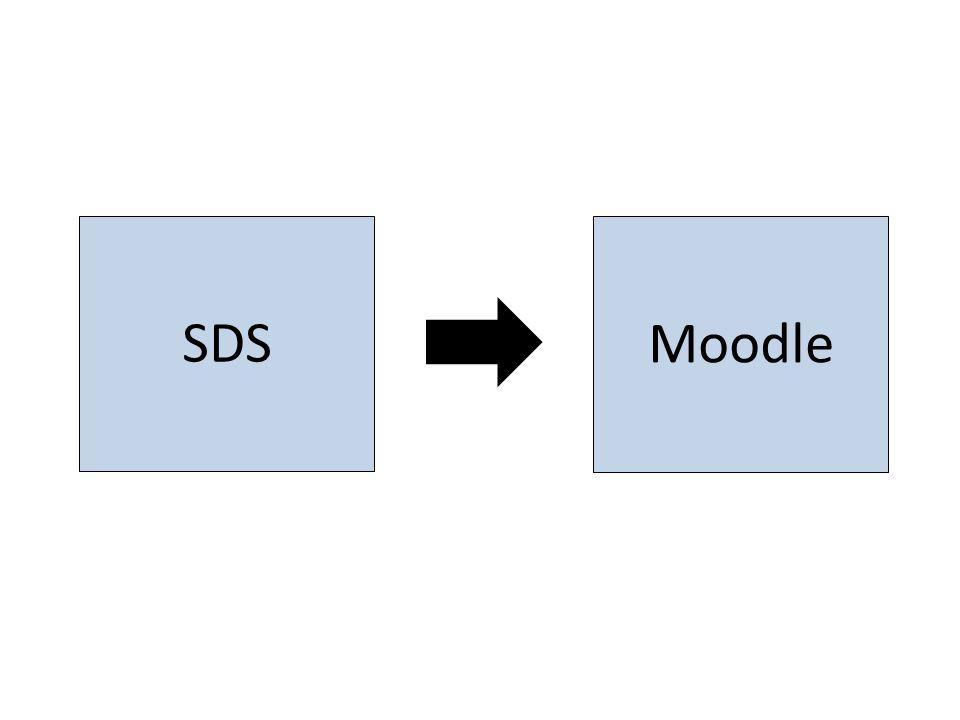 Moodle SDS