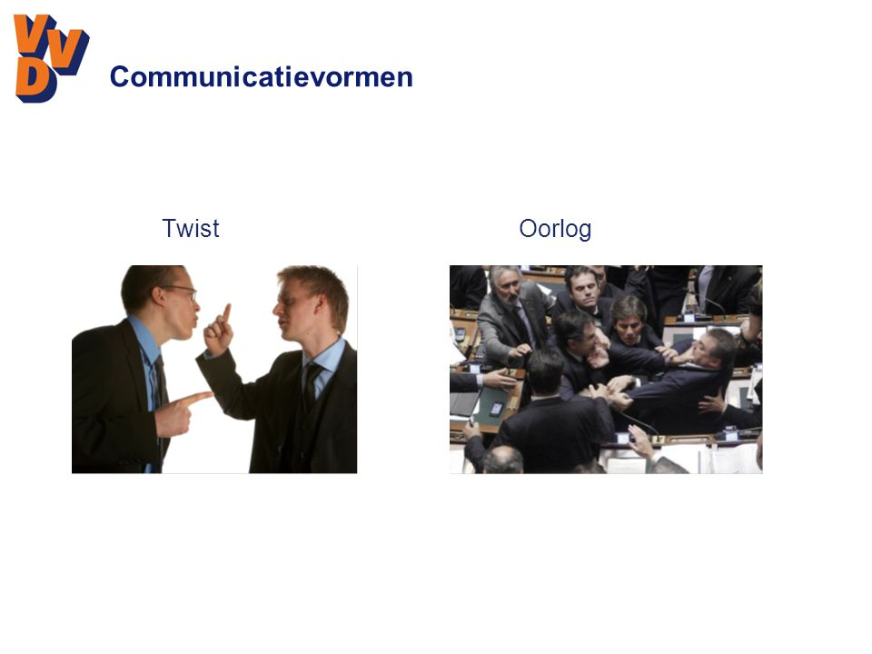 Communicatievormen TwistOorlog