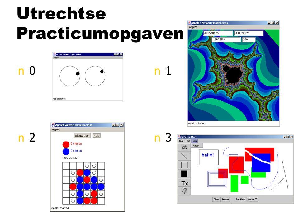 Utrechtse Practicumopgaven n0n2n0n2 n1n3n1n3
