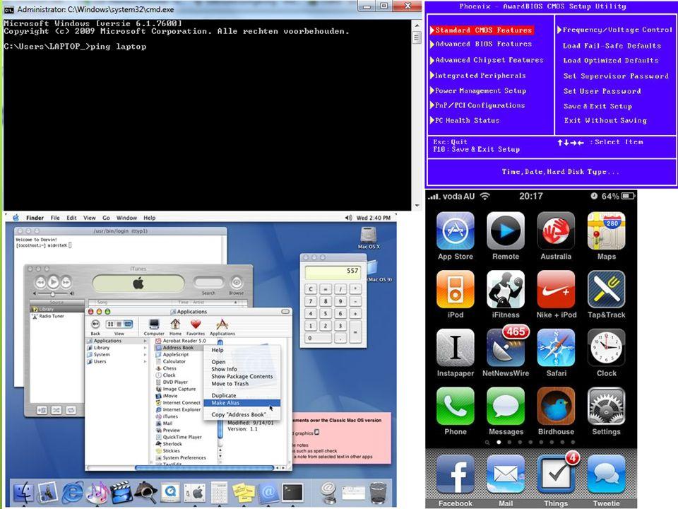 Functie van een UI  De besturing van een machine voor de mens mogelijk maken.  voorbeelden:  Grafische gebruikersinterface (GUI)  Opdrachtregelint