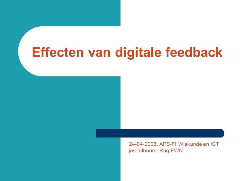 Huiswerk… http://elo1.ivo.rug.nl:8080/ username: rugastx, 1≤ x≤ 20 password: gastx, 1≤ x≤ 20 Commentaar naar: j.tolboom@math.rug.nlj.tolboom@math.rug.nl