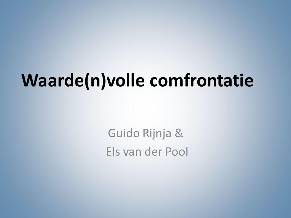 Waarde(n)volle comfrontatie Guido Rijnja & Els van der Pool