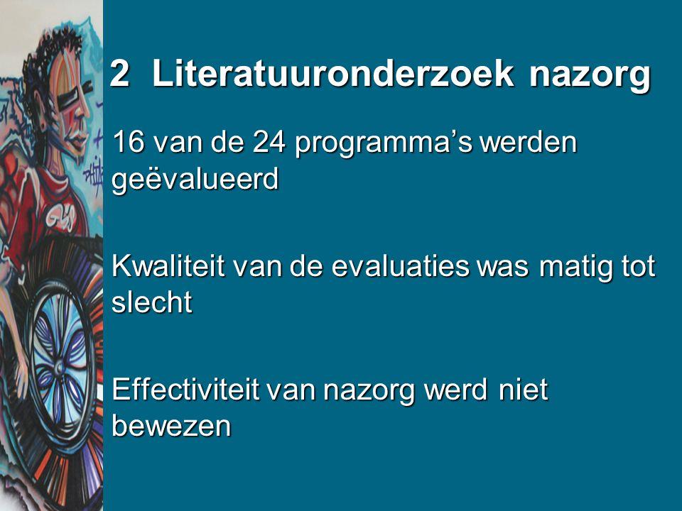 3 Het hoofdonderzoek De interventie Methode van evaluatie Resultaat van de evaluatie: hoe verliep de implementatie?hoe verliep de implementatie.