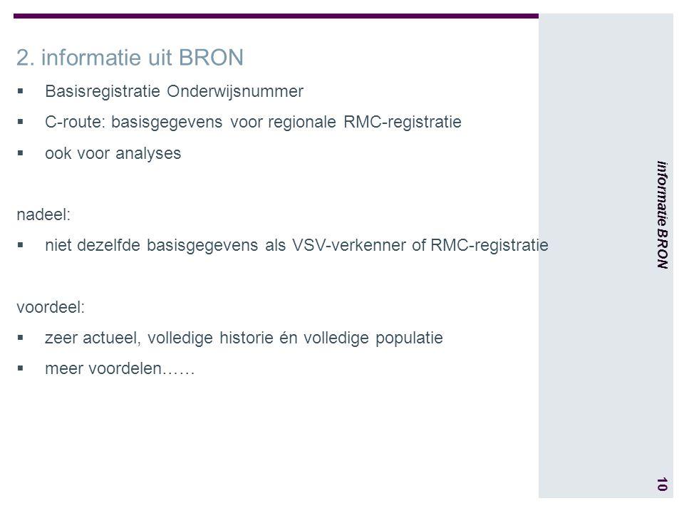 10 informatie BRON 2.