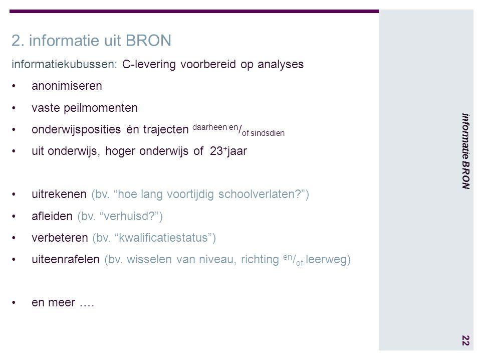 22 informatie BRON 2.