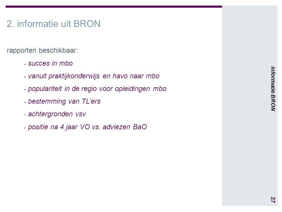 27 informatie BRON 2.