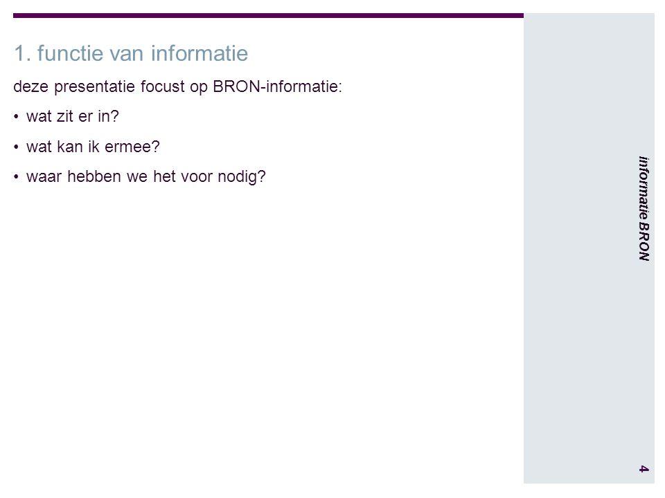 4 informatie BRON 1.