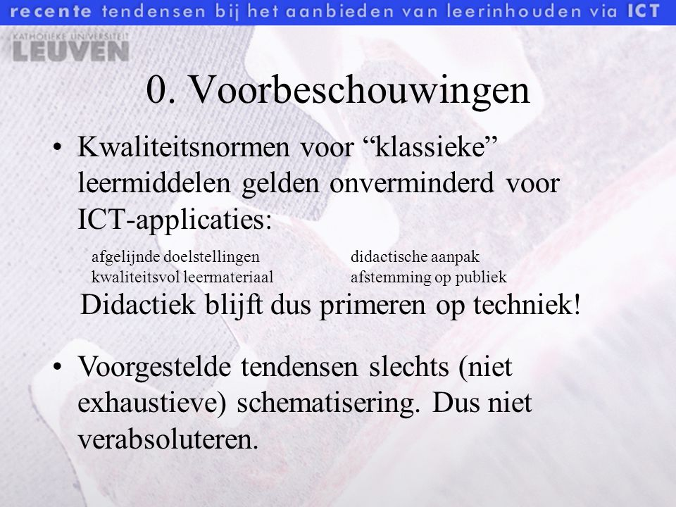ICT-applicaties: Vous dites?!WeboscopeAlfagram