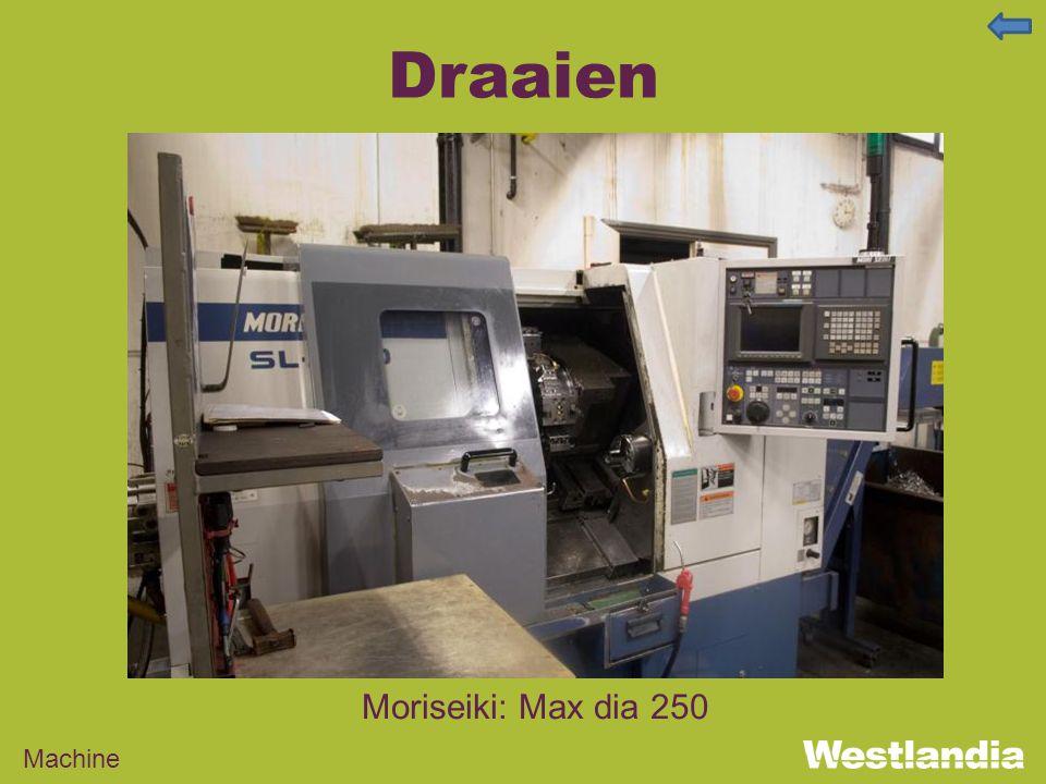 Draaien Machine Moriseiki: Max dia 250