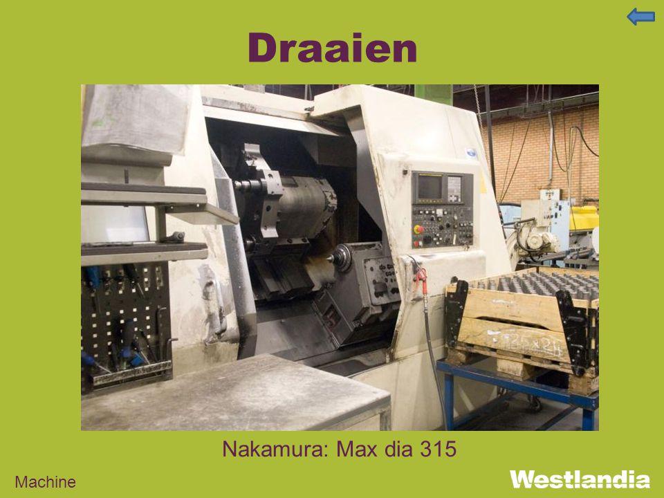 Draaien Machine Nakamura: Max dia 315