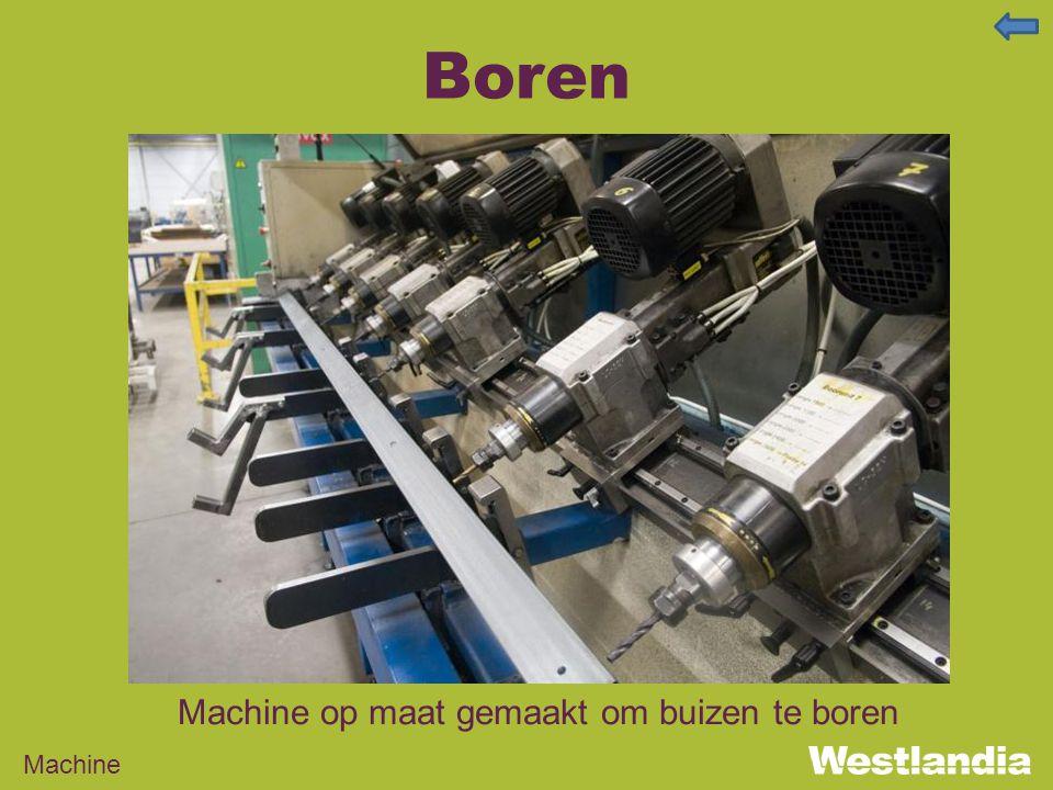 Boren Machine op maat gemaakt om buizen te boren Machine