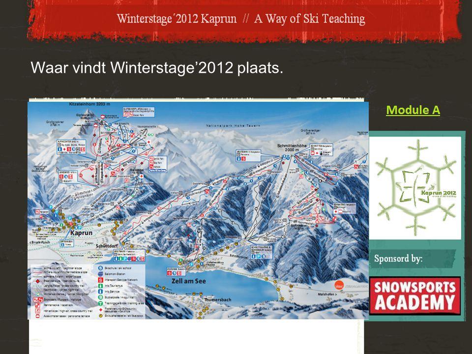 Waar vindt Winterstage'2012 plaats.
