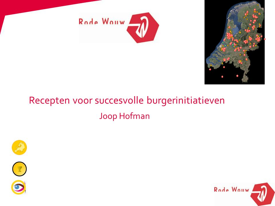 Joop Hofman Recepten voor succesvolle burgerinitiatieven