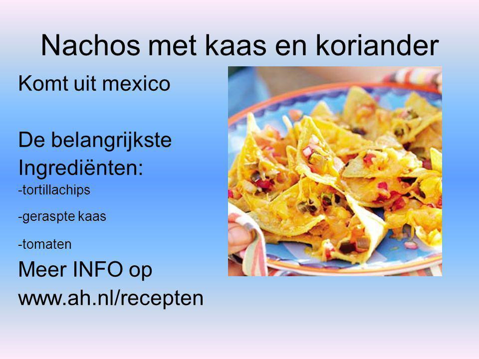 Griekse spanakopita Komt uit Griekenland De belangrijkste Ingrediënten: -Fetakaas -bladspinazie Meer INFO op www.ah.nl/recepten