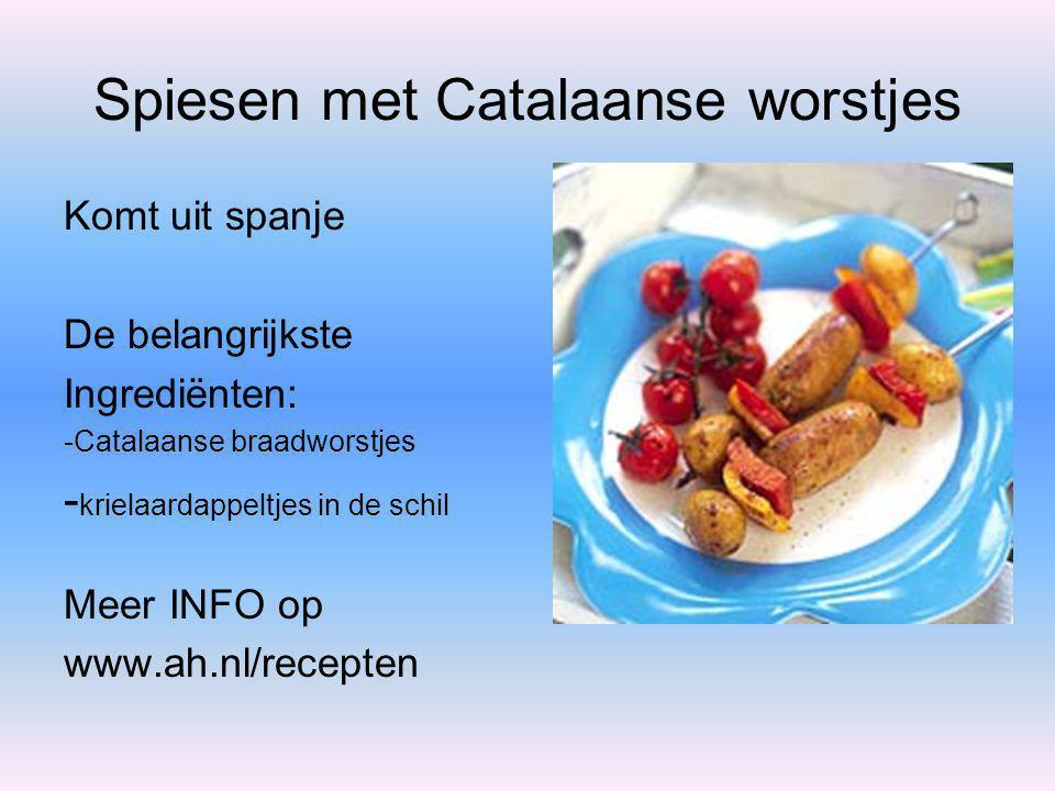 Ricottacrèmetaart Komt uit Italié De belangrijkste Ingrediënten: - blaadjes witte gelatine -vers sap sinaasappel/aardbei -ricotta (kaas) Meer INFO op www.ah.nl/recepten