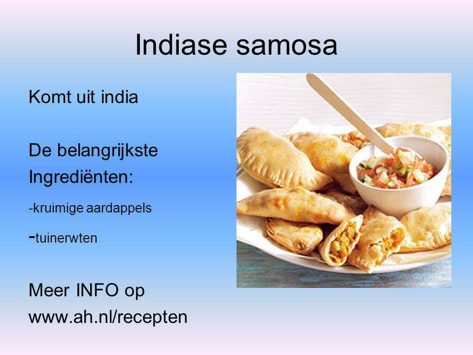Spiesen met Catalaanse worstjes Komt uit spanje De belangrijkste Ingrediënten: -Catalaanse braadworstjes - krielaardappeltjes in de schil Meer INFO op www.ah.nl/recepten