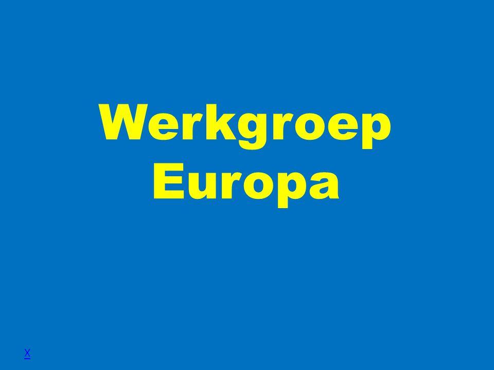 Werkgroep Europa X