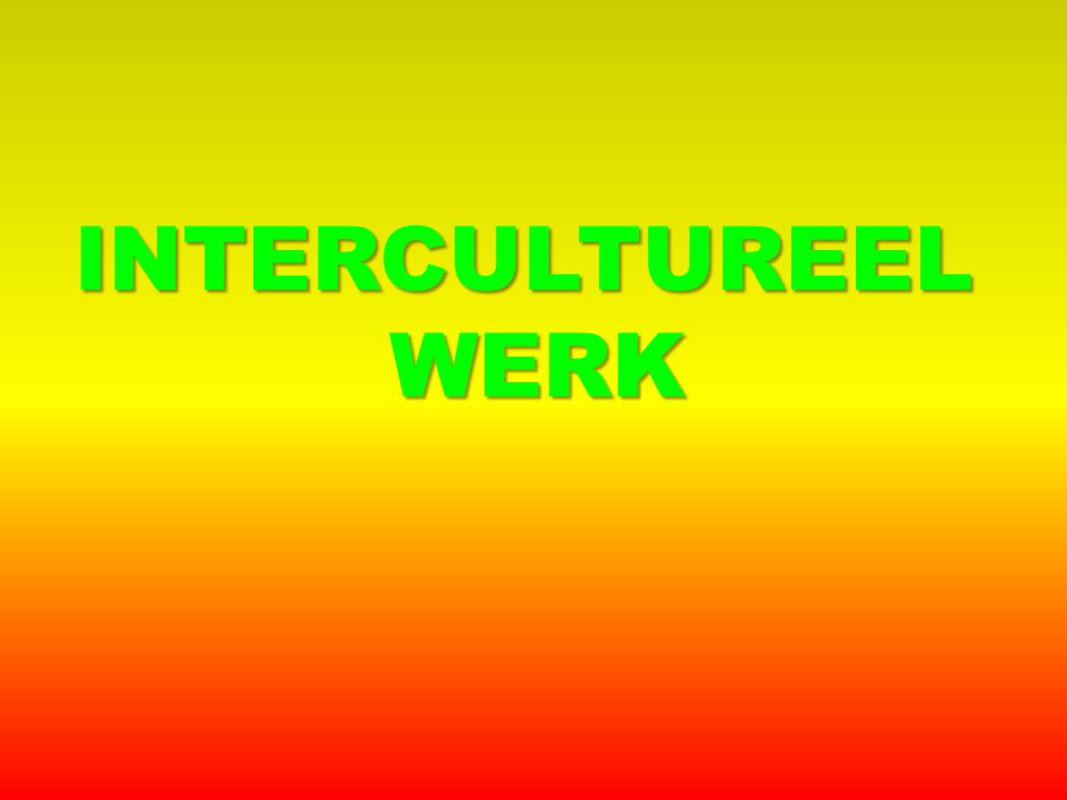 INTERCULTUREELWERK