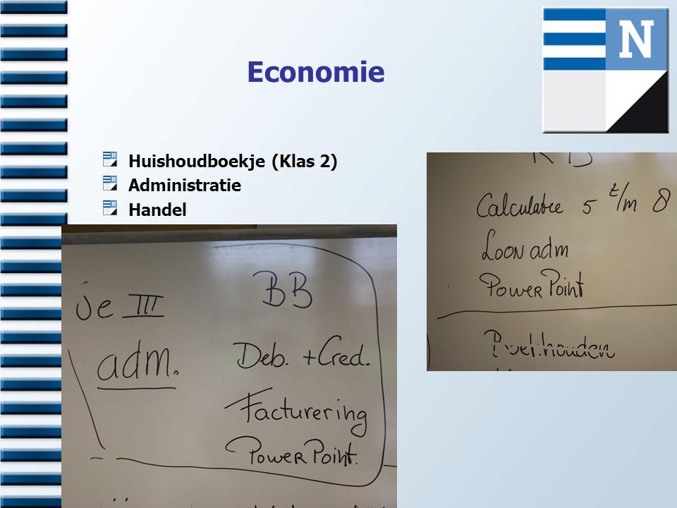 Economie Huishoudboekje (Klas 2) Administratie Handel Verkoop