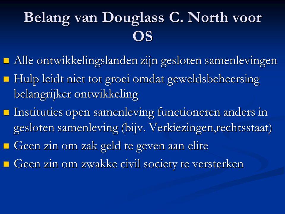 Belang van Douglass C.
