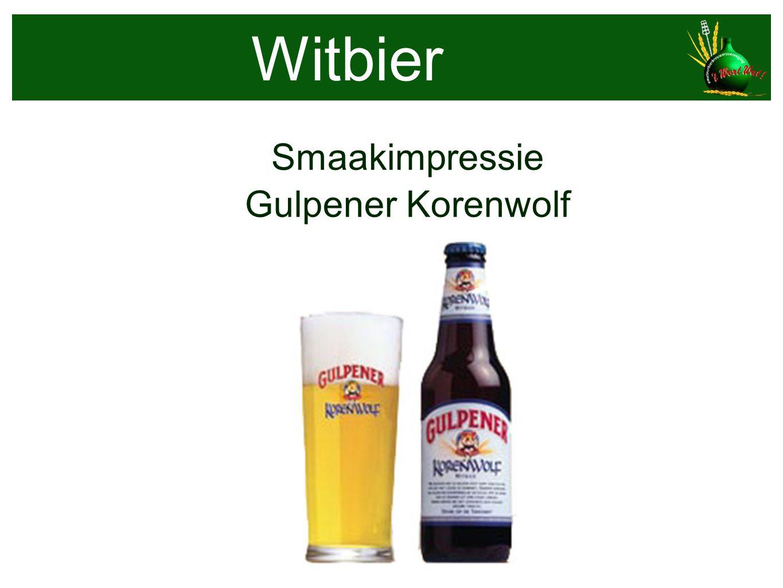 Smaakimpressie Gulpener Korenwolf Witbier