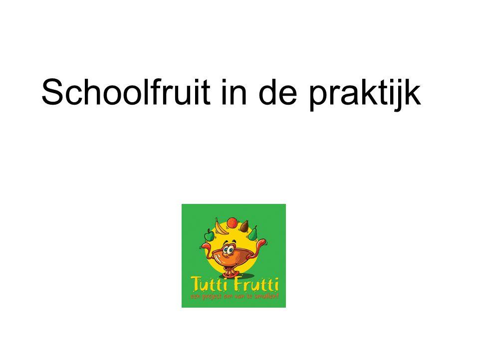 Schoolfruit in de praktijk