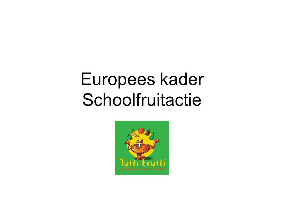 Europees kader Schoolfruitactie