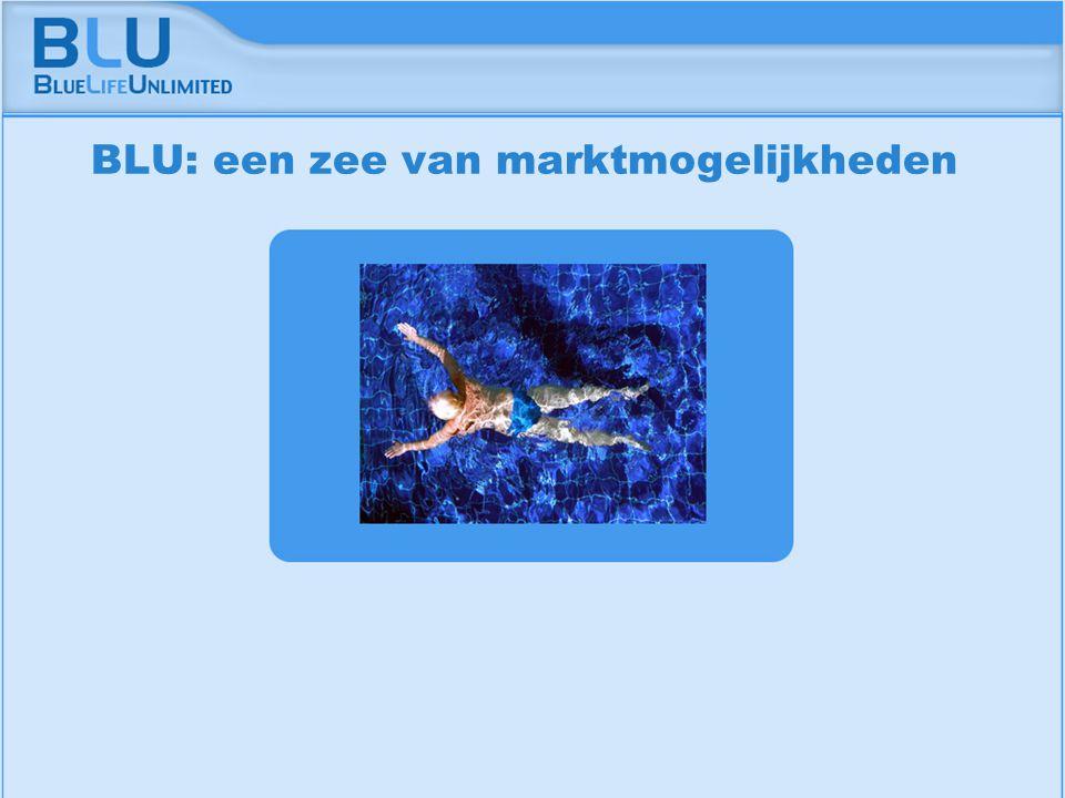 Amsterdam 9 september 2005 BLU Vision Table BLU: een zee van marktmogelijkheden
