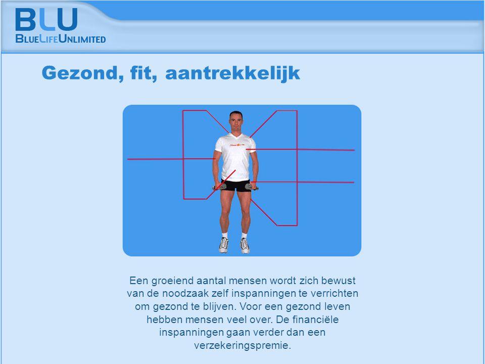 Amsterdam 9 september 2005 BLU Vision Table Een groeiend aantal mensen wordt zich bewust van de noodzaak zelf inspanningen te verrichten om gezond te