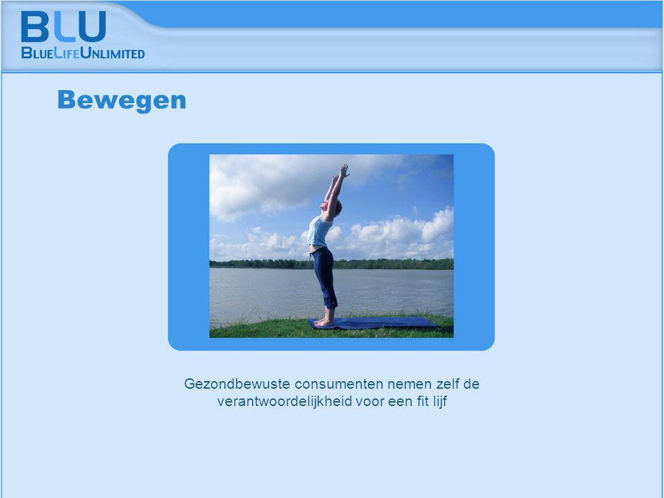 Amsterdam 9 september 2005 BLU Vision Table Gezondbewuste consumenten nemen zelf de verantwoordelijkheid voor een fit lijf Bewegen