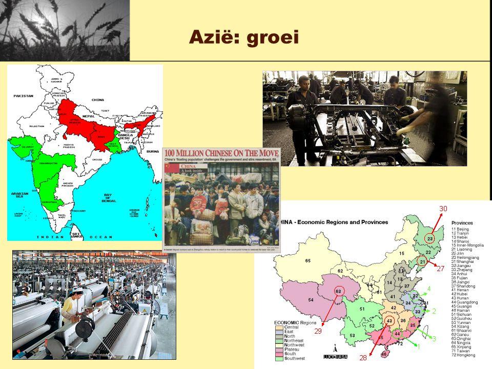 Azië: groei