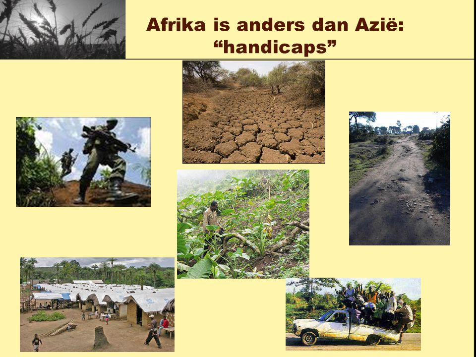 "Afrika is anders dan Azië: ""handicaps"""