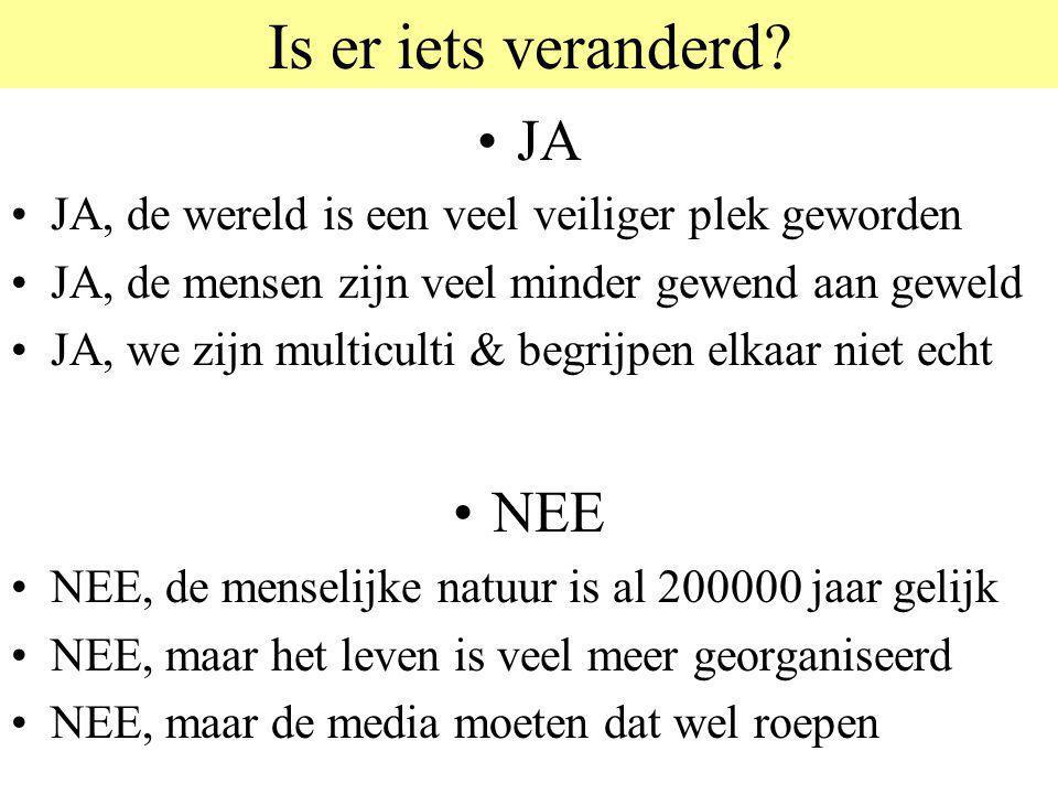© 2006 JP van de Sande RuG Twee manieren van denken Alle recepten om agressie- problemen op te lossen, horen aan de rechterkant.