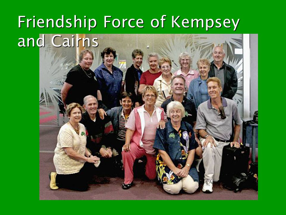 Friendship Force of Kempsey and Cairns