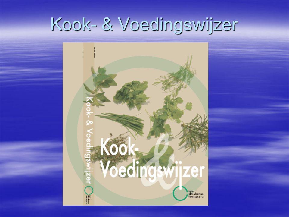 Kook- & Voedingswijzer