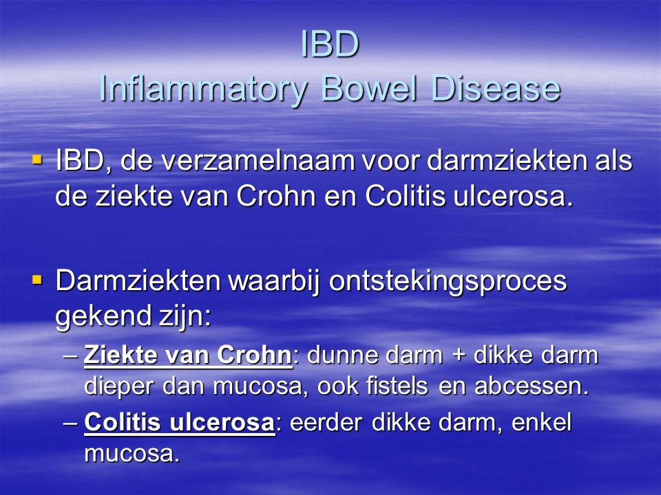 Oorzakelijk verband met voeding  Ontstekingen in de darmen worden veroorzaakt door een systematisch overdreven reactie van de darmen op stoffen in de darm.