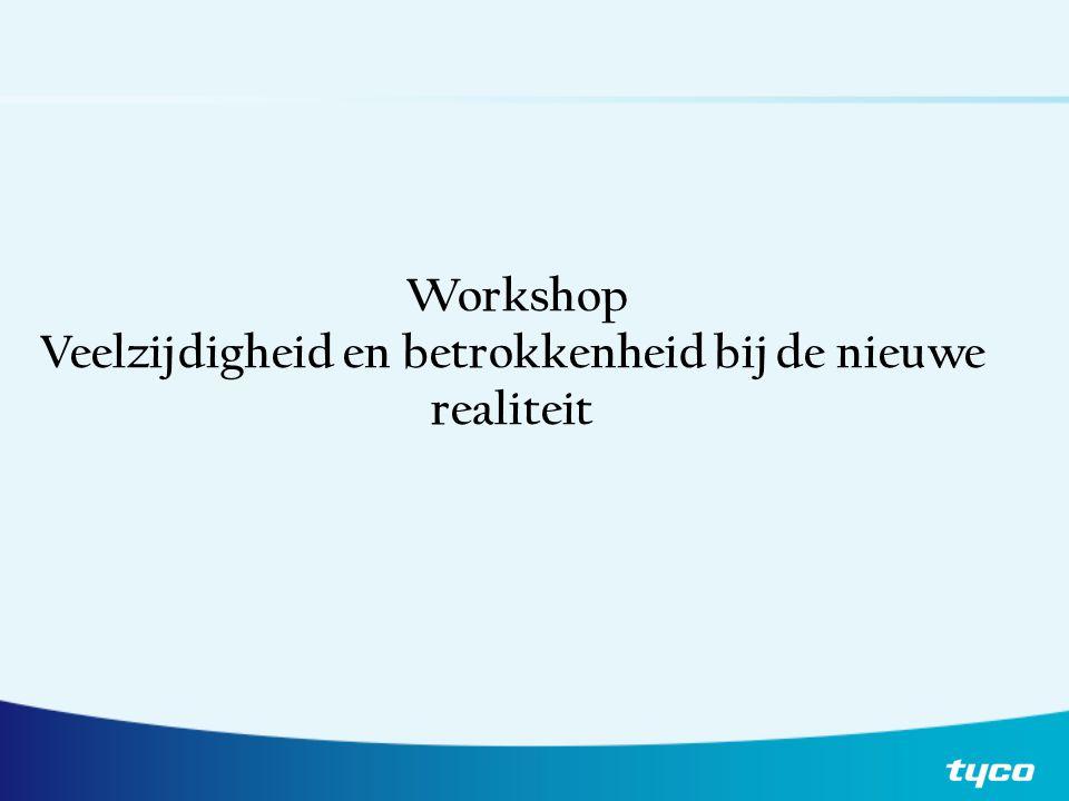 Workshop Veelzijdigheid en betrokkenheid bij de nieuwe realiteit