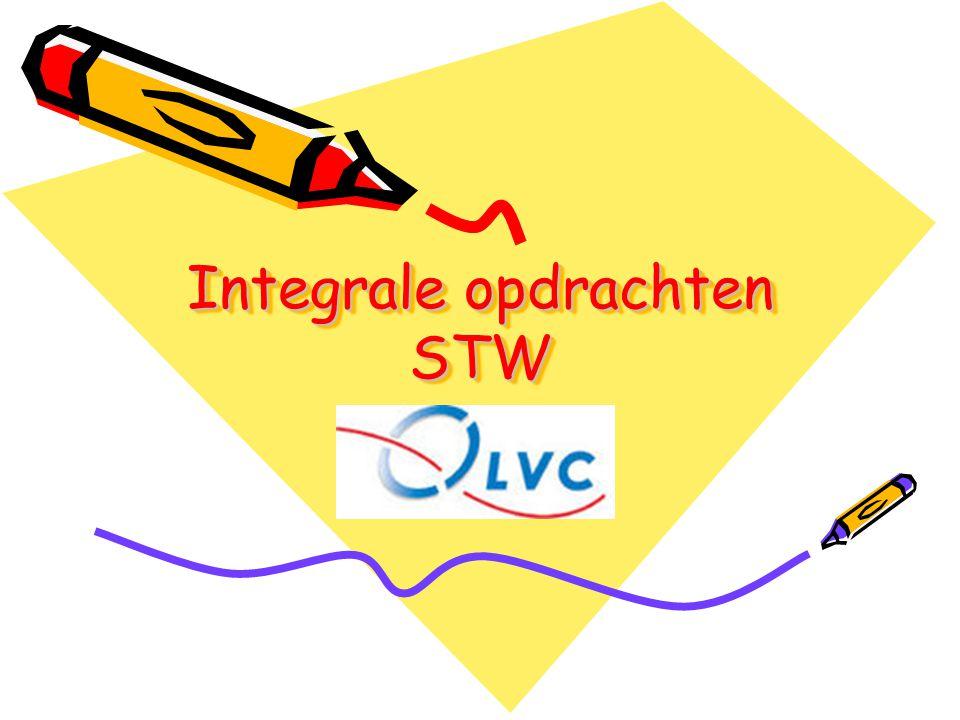 Integrale opdrachten STW