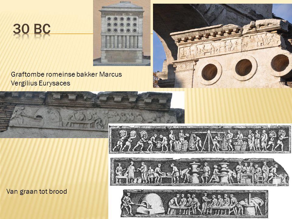 Graftombe romeinse bakker Marcus Vergilius Eurysaces Van graan tot brood