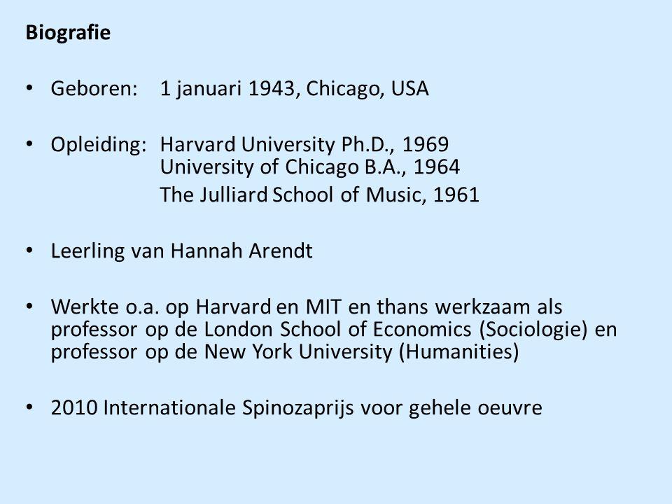 Biografie Geboren: 1 januari 1943, Chicago, USA Opleiding:Harvard University Ph.D., 1969 University of Chicago B.A., 1964 The Julliard School of Music