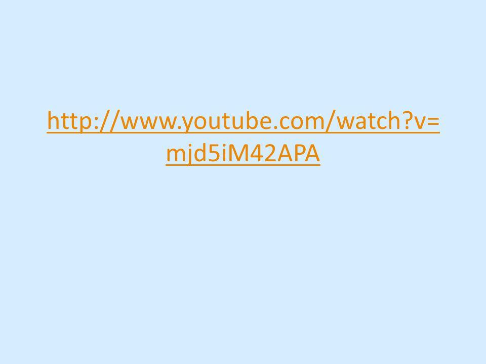 http://www.youtube.com/watch v= mjd5iM42APA